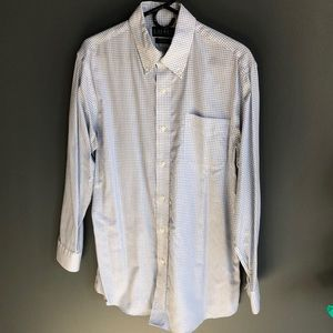 Ralph Lauren Non-Iron Slim Fit Shirt (blue stripe)